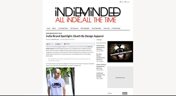 death by design apparel_ indie minded feature